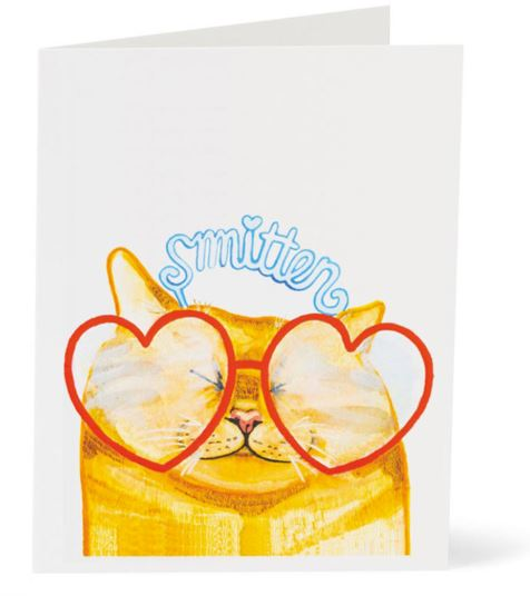 Jo Lee - Cat Glasses Card