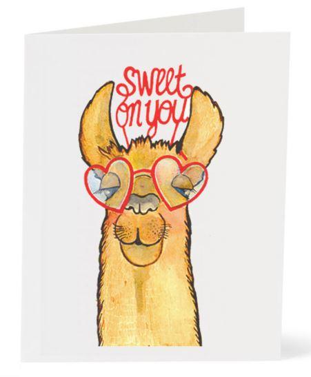 Jo Lee - Llama Glasses Card