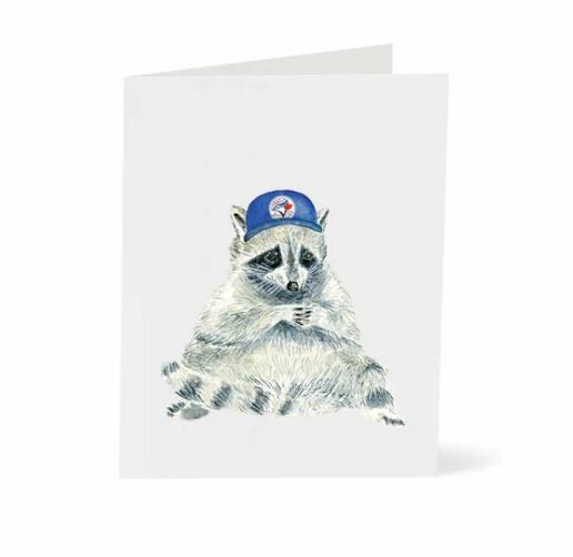 Jo Lee - Toronto Raccoon Blue Jays Card