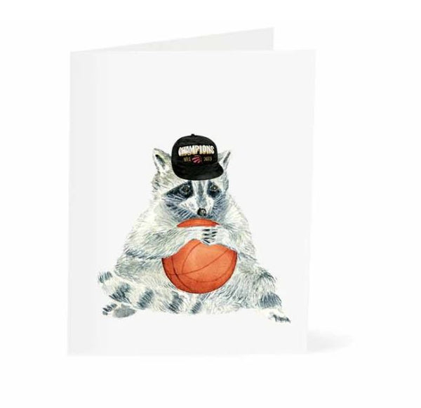 Jo Lee - Toronto Raccoon Raptors Card
