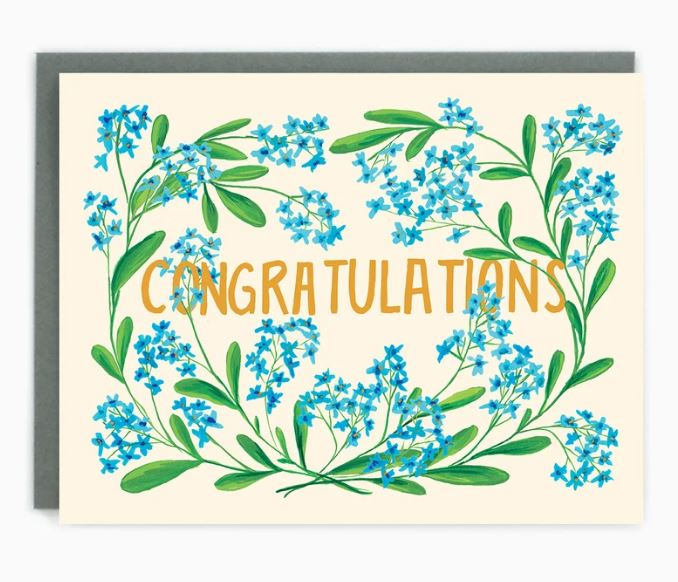 Made in Brockton Village - Congratulations Card
