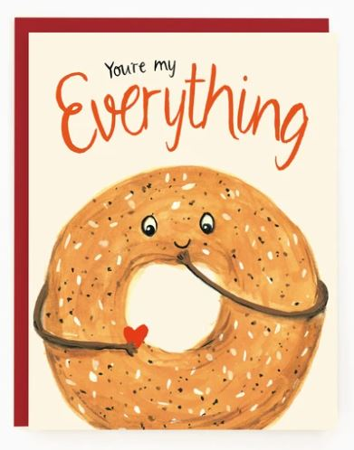 Made in Brockton Village - Everything Bagel Card