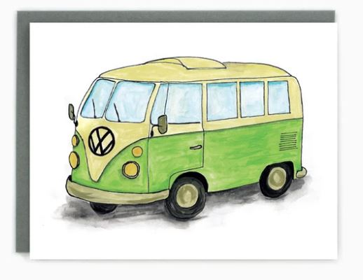 Made in Brockton Village - Camper Van Card