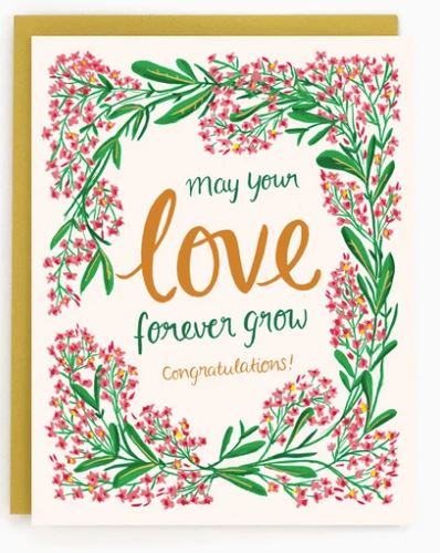 Made in Brockton Village - Love Forever Grow Card