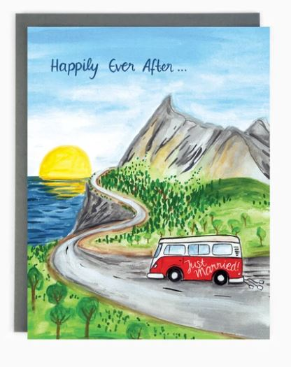 Wedding Road Trip Card