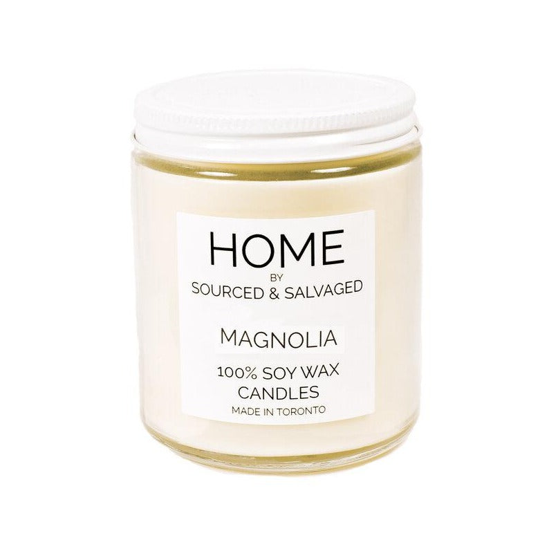 Sourced & Salvaged Soy Candle - Magnolia