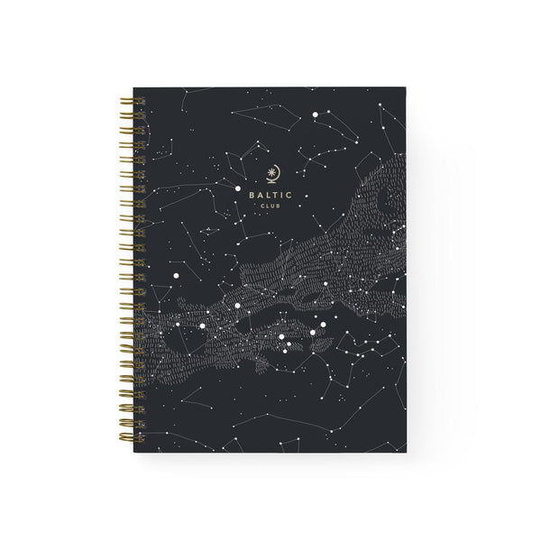 Baltic Club - Constellations Spiral Notebook