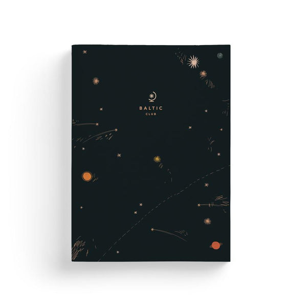 Baltic Club - Shooting Stars Notebook