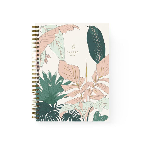 Baltic Club - Florida Spiral Notebook