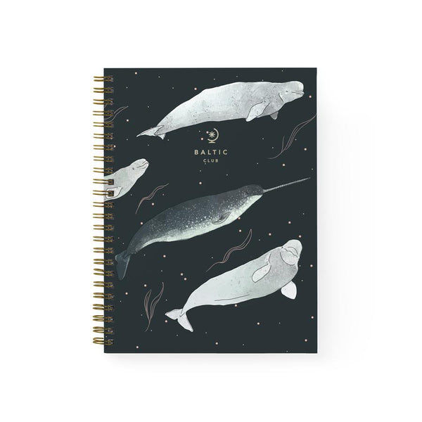 Baltic Club - Belugas Spiral Notebook