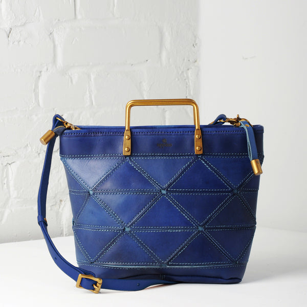 Origami Small Tote - Cobalt