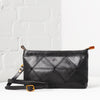 Origami Clutch / Crossbody Bag - Black