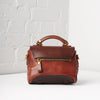 Pixie Mini Messenger Bag (Chestnut)