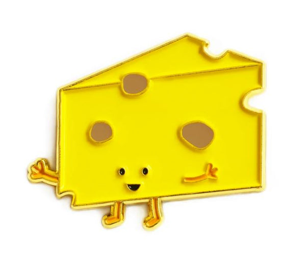 Queenies Cards - Cheese Enamel Pin