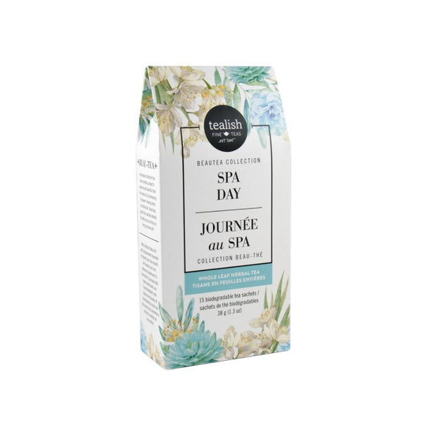 Tealish - Spa Day (Herbal Tea Sachets)