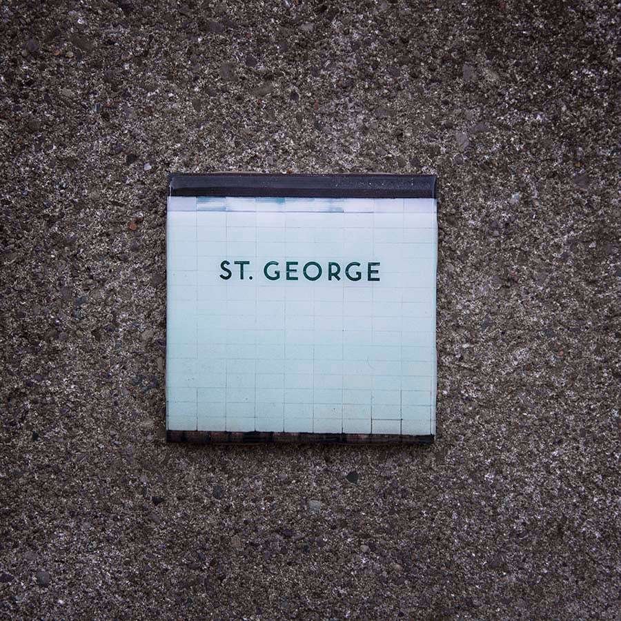 Resurfaced - St. George Station Tile Coaster