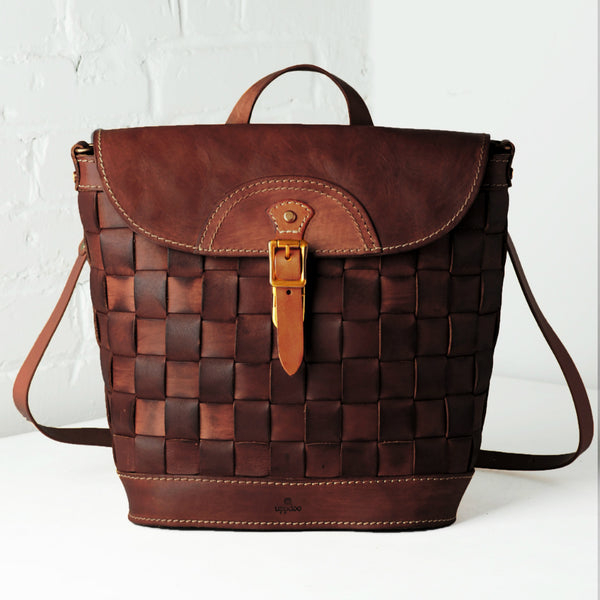 Venture Convertible Backpack - Chestnut
