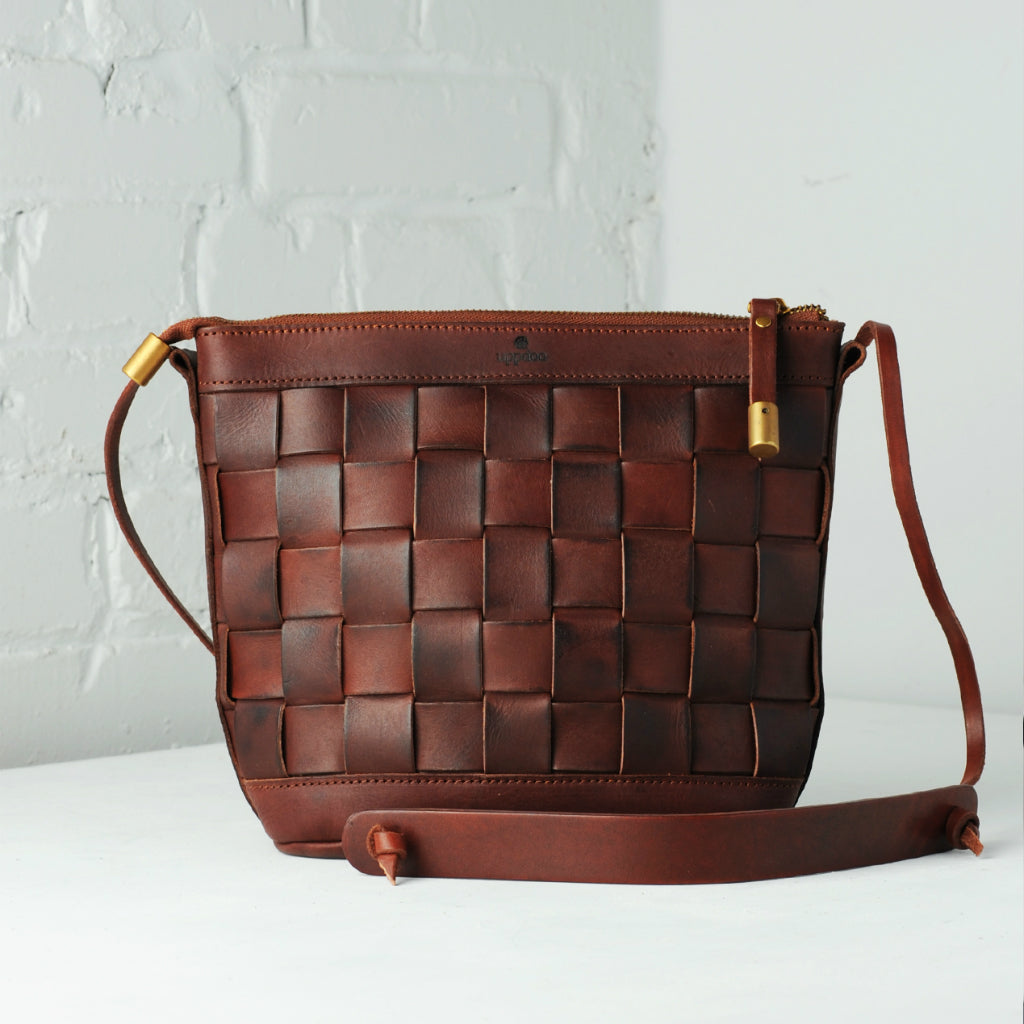 Venture Cross-body Bag - Chestnut