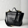 Vive Top Handle Satchel - Black
