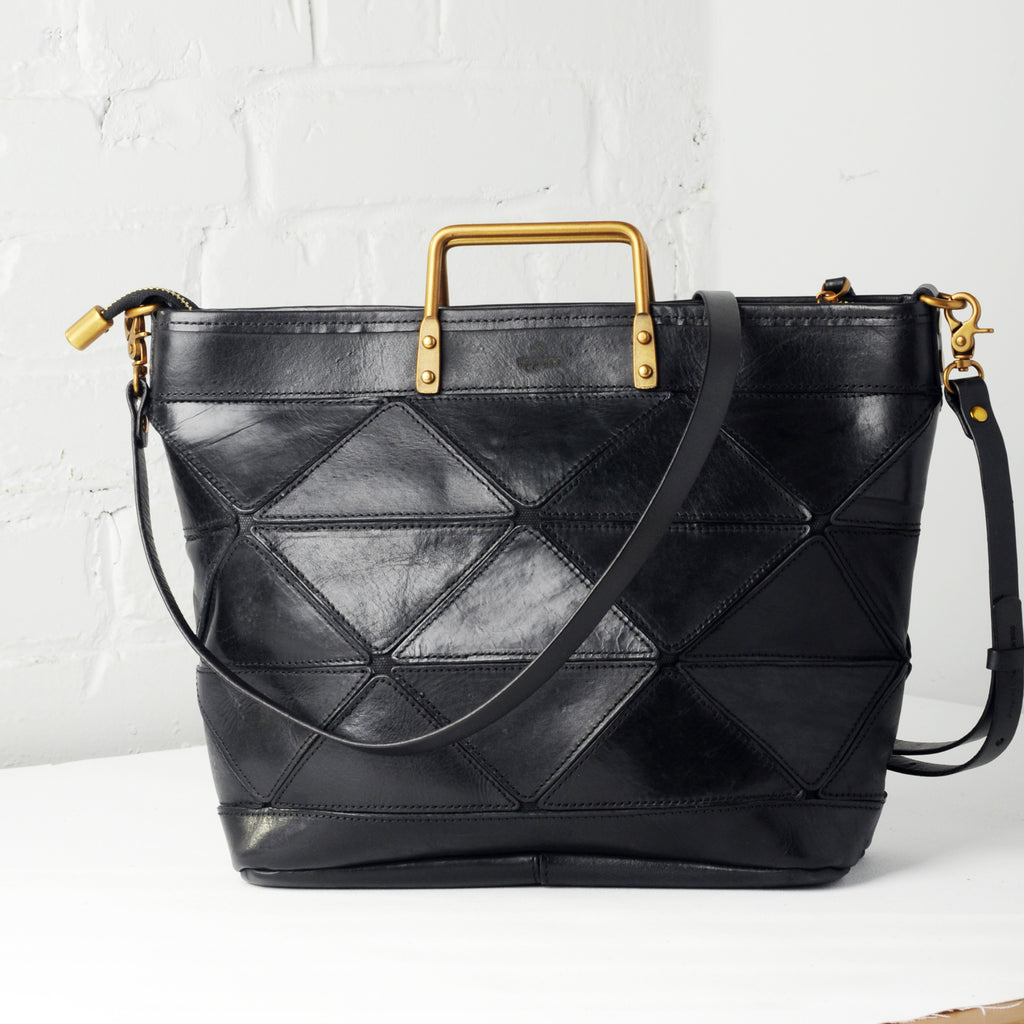 Origami Large Tote - Black
