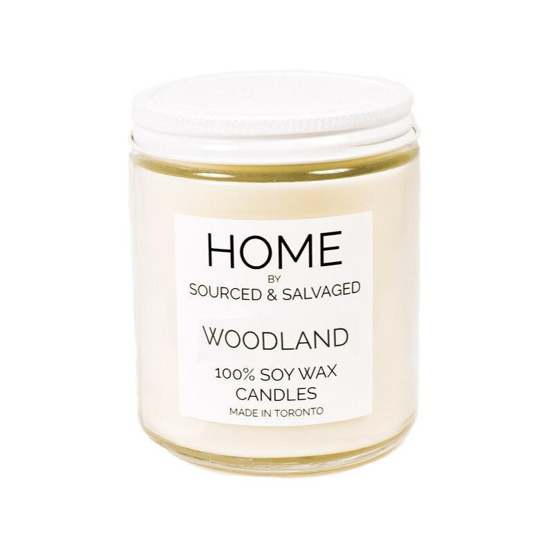 Sourced & Salvaged Soy Candle - Woodland