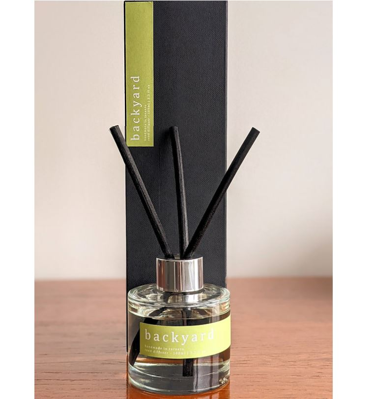 Lares Candles - Backyard Reed Diffuser