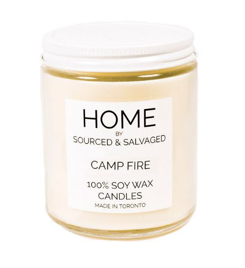Sourced and Salvaged Soy Candle - Campfire
