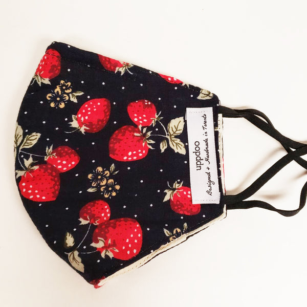 Non-medical Adult Mask - Strawberry