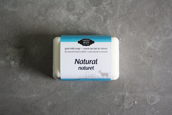 Happy Body Collection - Pure Natural  Goat Milk Soap
