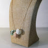 Catmamola Ceramics - Porcelain Rock Drop Beaded Necklace (Alice)