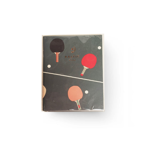 Baltic Club - Ping Pong Pocket Notebook