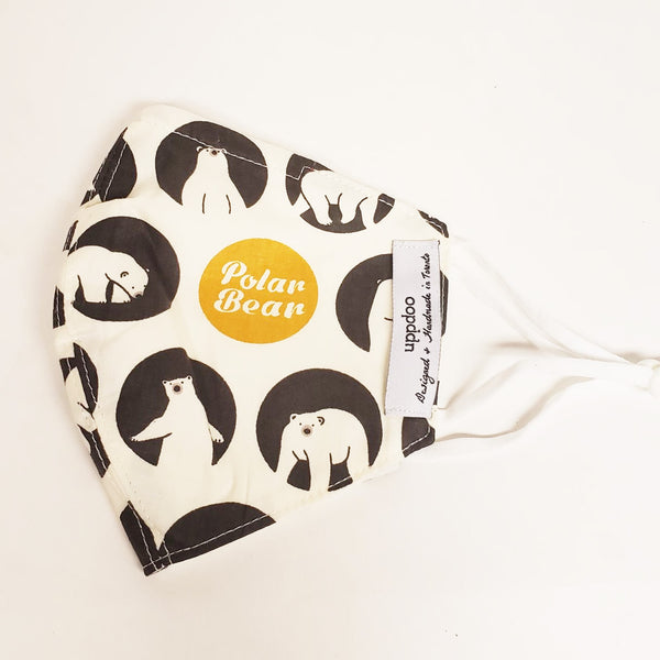 Non-medical Adult Mask - Polar Bear