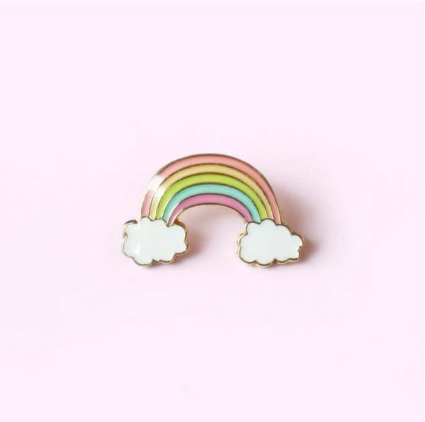 Crywolf - Rainbow Enamel Pin