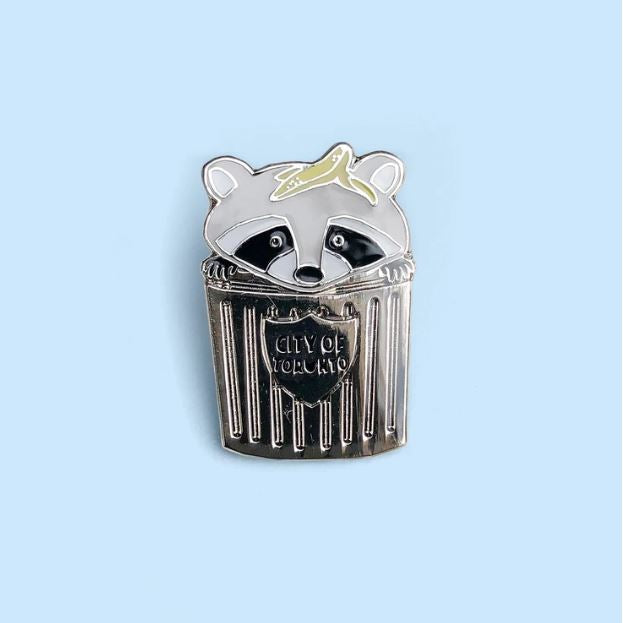 Crywolf - Trash Panda Raccoon Enamel Pin