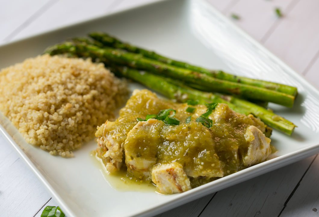 Healthy Living | Women | Green Chili Chicken