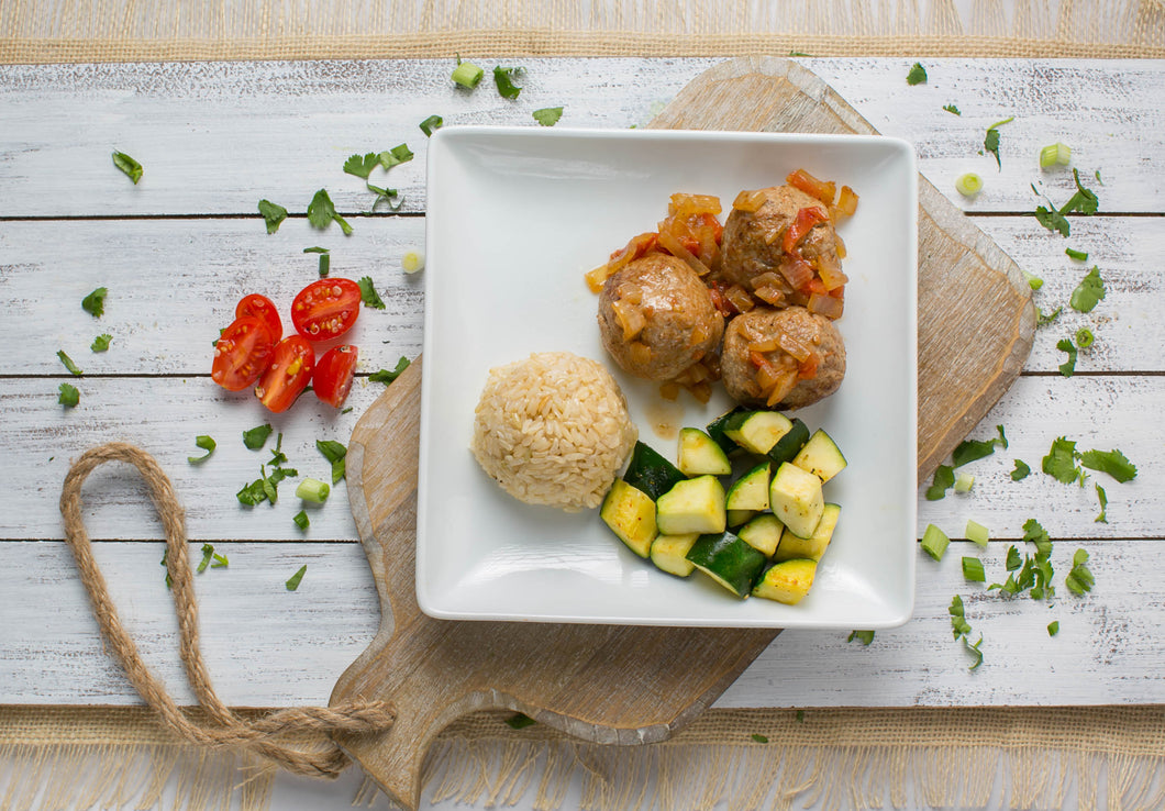 Hard Body | Women | Ground Turkey Meatballs