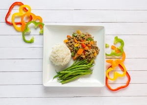 Healthy Living | Men | Confetti Ground Turkey