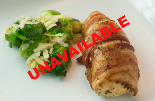 Keto | Men | Bacon Wrapped Chicken