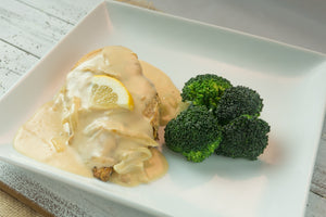 Keto | Women | Chicken with Lemon Cream Sauce