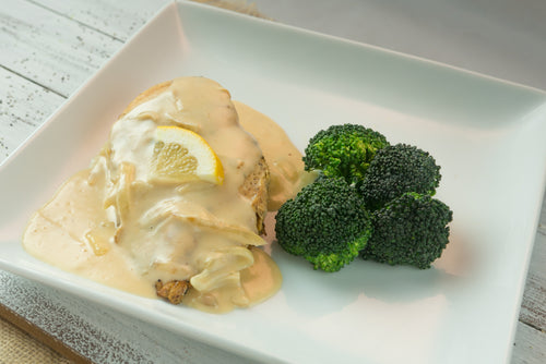 Keto | Men | Chicken with Lemon Cream Sauce