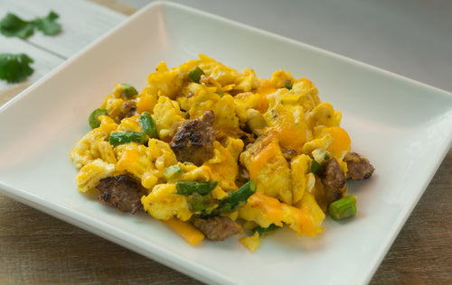 KETO Breakfast | Women | Breakfast Scramble