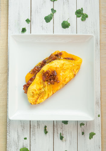 KETO Breakfast | Men | Bacon Lovers Omelet