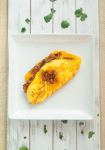 KETO Breakfast | Women | Bacon Lovers Omelet