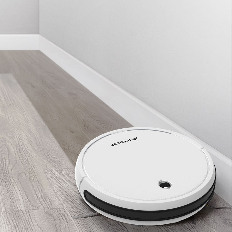 Airbot A500 Robotic Vacuum Slim Body Pure White 2500Pa APP Mapping Scheduled Cleaning Water Tank