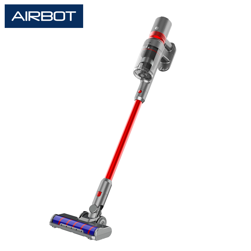 Airbot Supersonics PRO 25000Pa Cordless Vacuum LED Display Visual Feedbacks Cleaning Floor Light Streamline Vacuum Cleaner Best Work with Airbot Robot Robotic Vacuum