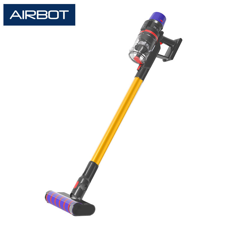 Airbot Hypersonics 27KPA Auto Speed Power Cordless Vacuum Cleaner 50min Runtime with Smart Dust Sensing 9 Cyclones Auto Speed Control