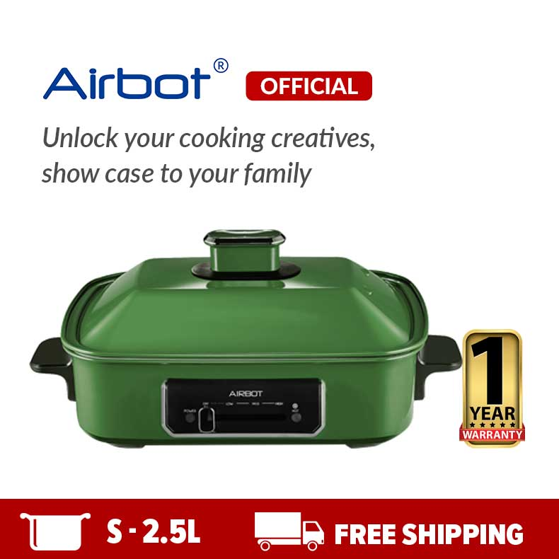 Airbot iCook Multi-purpose Pot Green