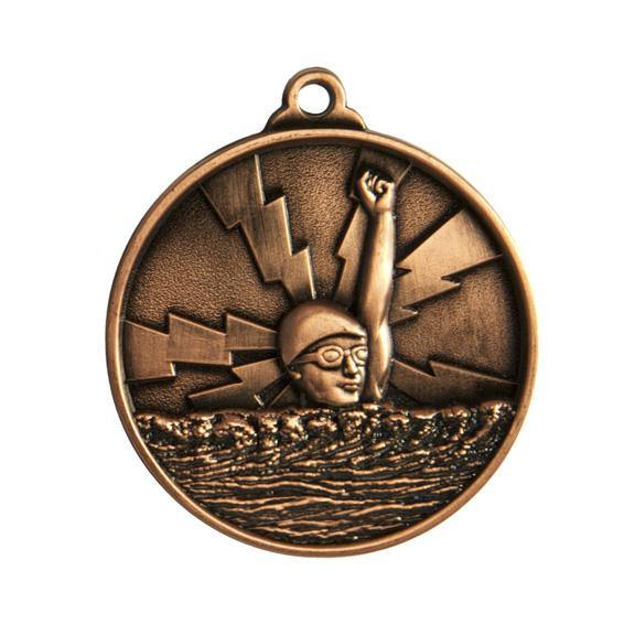 Lightening Swimming Medals