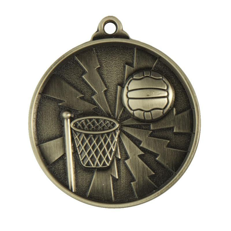 Lightening Netball Medals