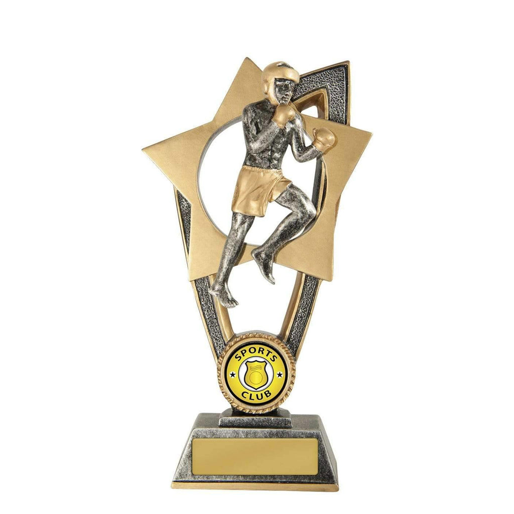 Ezi Rez Series Boxing Trophy available in three sizes - The Trophy Superstore